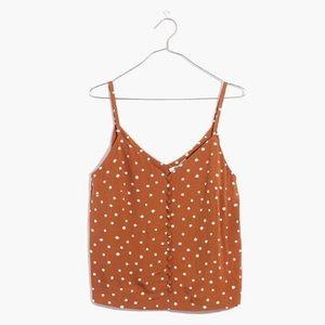 Madewell Inkspot Dots Button-Down Cami Top 12